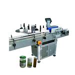 Ronda automática lata de alimentos máquina de etiquetado