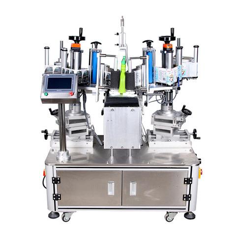 Automática Adhesivo Ronda etiquetado de la botella de la máquina...