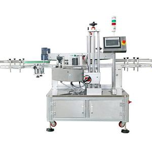 Máquina etiquetadora atomática de doble cara