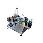 máquina para pegar etiquetas de aceite redondas