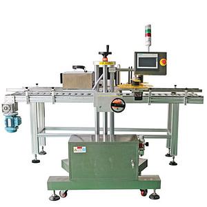 máquina de etiquetado cuadrado