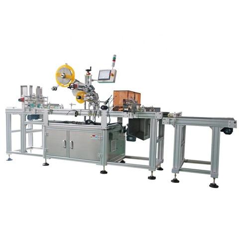Maquina de serigrafia semi automatica imprimiendo friselina...