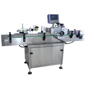 máquina etiquetadora de superficie superior de chocolate