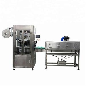 Máquina etiquetadora redonda de envoltura vertical