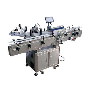 máquina de etiquetado de tubos de vías horizontales