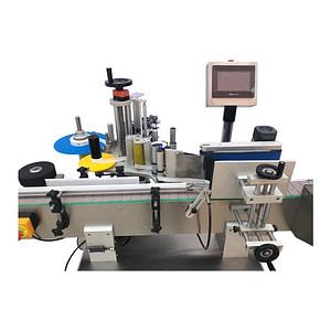 máquina de etiquetado de botellas planas de aceite