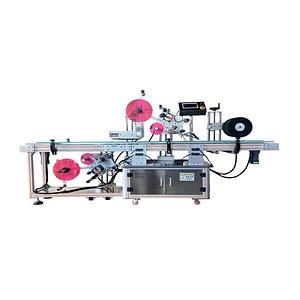 Máquina etiquetadora de frascos de especias