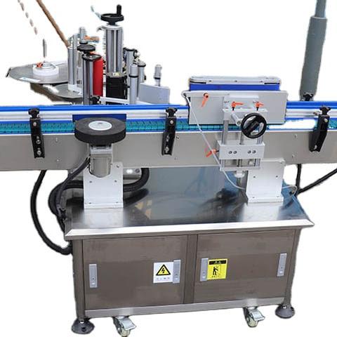 Máquina de etiquetado plana semiautomática de la...