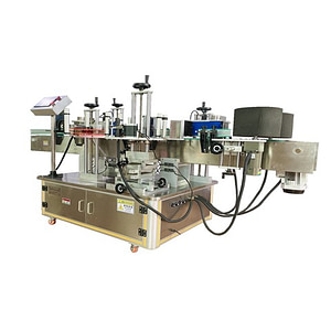 Automático pvc bolsa máquina de etiquetado con alimentador