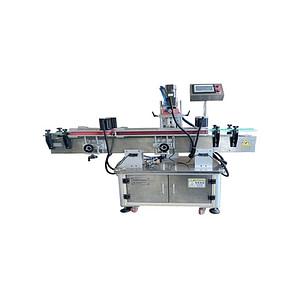 Máquina de etiquetado de cajas desplegadas