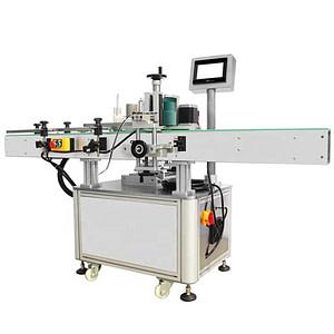 Pequeño automático operado crema máquina de etiquetado
