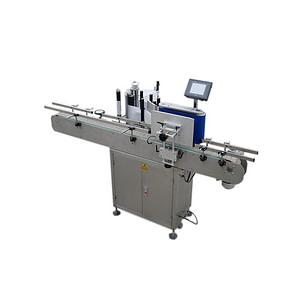 máquina etiquetadora de adhesivos de superficie plana