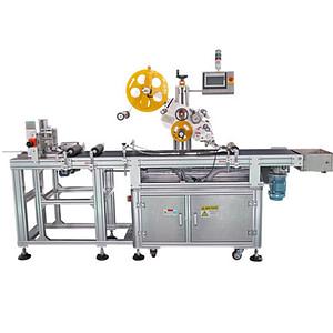 Máquina etiquetadora ampolla con impresora