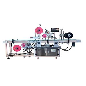 Máquina etiquetadora de líquidos estériles