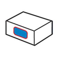Etiquetadora lateral de cartón