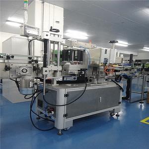 Máquina de pegado de etiquetas de Vial líquido