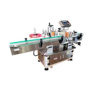Máquina de etiquetado horizontal para jeringas