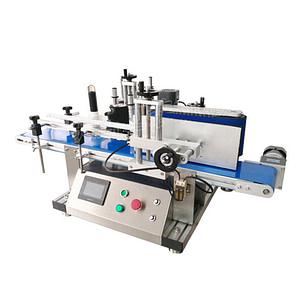 máquina etiquetadora de bolsas de mantequilla