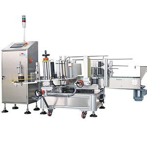 máquinas de etiquetado de bandejas