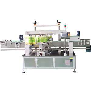 Máquina etiquetadora de cartón de papel