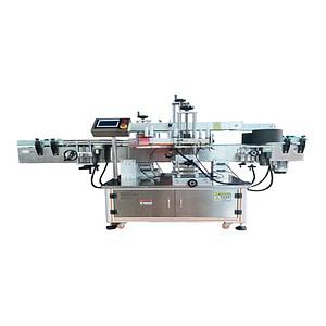 Máquina etiquetadora con dispositivo de impresión de fecha