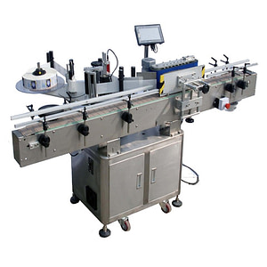 Máquina etiquetadora de bolsas de polietileno