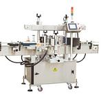 máquina de etiquetado lateral superior con impresora