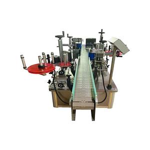 máquina etiquetadora de superficie superior de cartón
