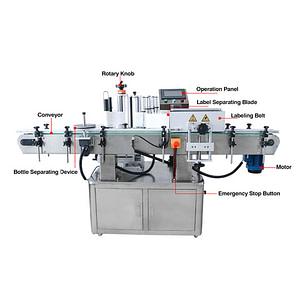 máquina etiquetadora automática de rollo a rollo