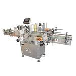 máquina de etiquetado con línea de producción