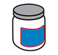 Etiquetado de botellas redondas