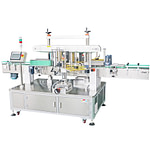 máquina de etiquetado no formado de cartón