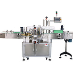 máquina de etiquetado de salchicha de jamón