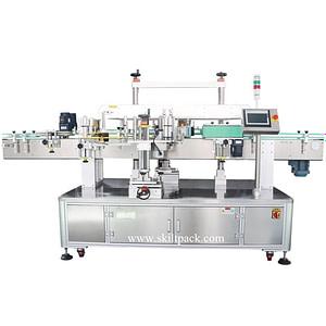 Máquina etiquetadora de tubos con impresora