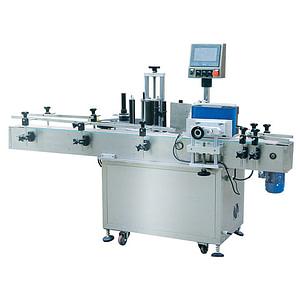 máquina etiquetadora de líquidos de alcohol