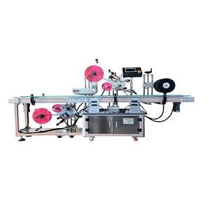máquina de etiquetado de ampollas con impresora