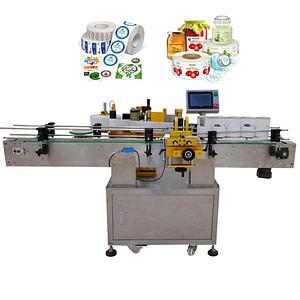 máquina de etiquetado de superficie lateral superior