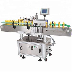 Horizontal automática etiquetado máquina de salchichas