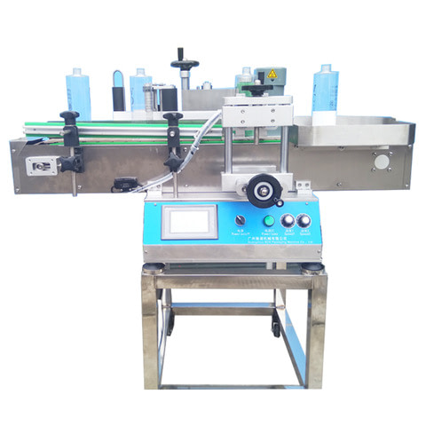 Automatic stickers Label Applicator for round bottle...