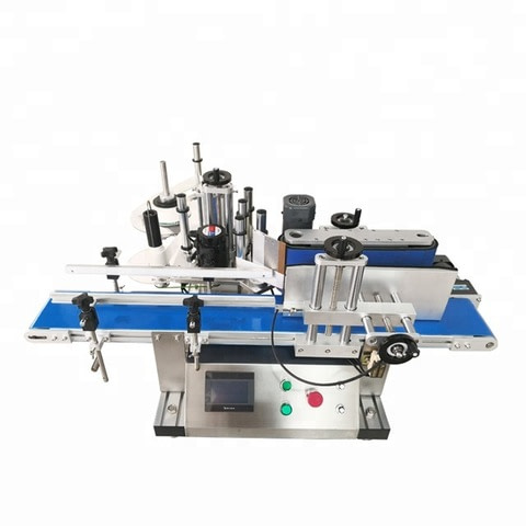 Máquina de etiquetado plana semiautomática de la etiqueta...