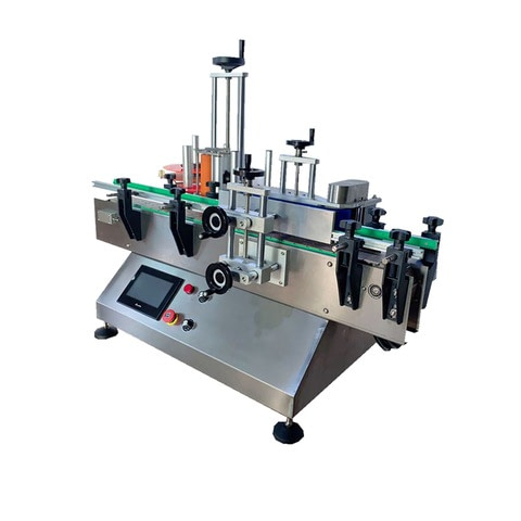 Automatic Round Bottle Sticker Labeling Machine, Máquina...