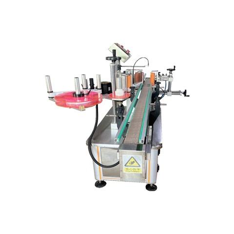 machine à étiquettes d'alimentation de carton máquina de...