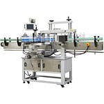 Máquina etiquetadora con dispositivo de impresora de fecha