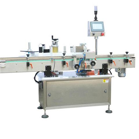 Máquina etiquetadora facilita el etiquetado de productos.