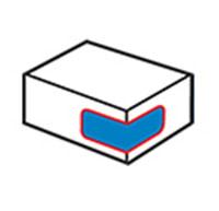 Etiquetadora de la esquina del cartón