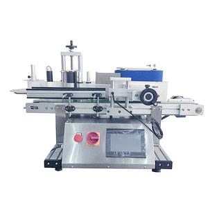 Máquina etiquetadora de tapa de corona