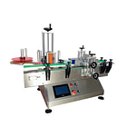 Máquina etiquetadora lateral de galones de agua