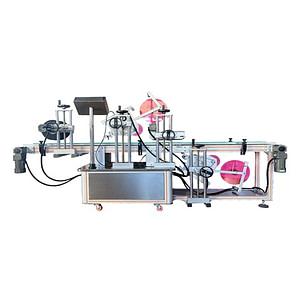 máquina etiquetadora automática de bolsas de gránulos China