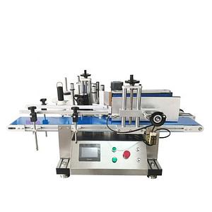 Máquina de etiquetado automático orientado botella pantalla táctil