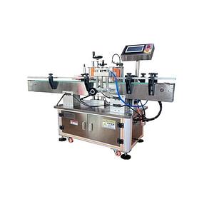 máquina de etiquetado de bandeja superior
